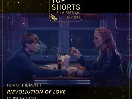 Top Shorts Winners - July 2021