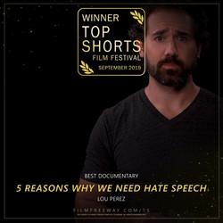 5 REASONS WHY WE NEED HATE SPEECH