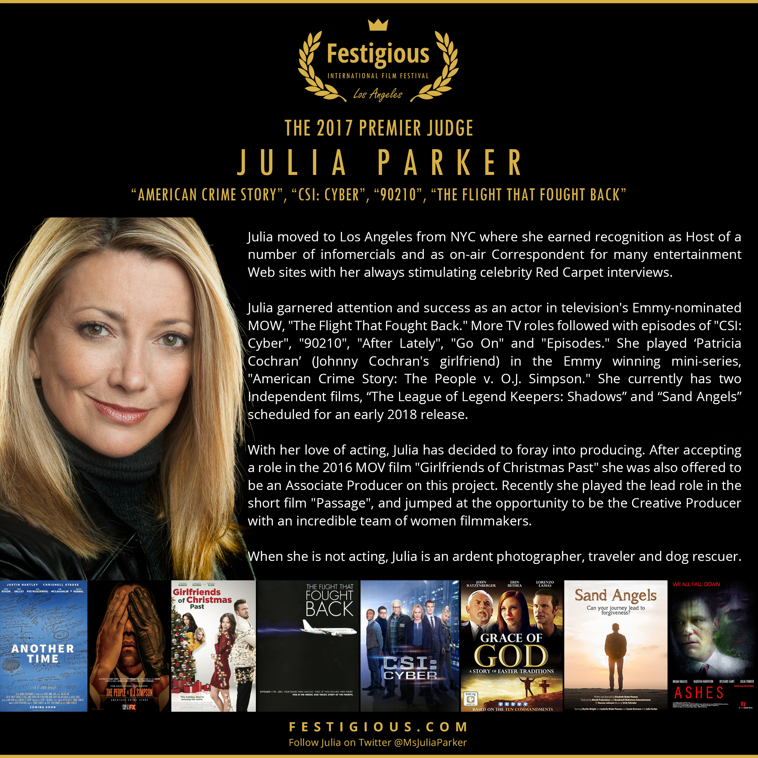 Premier Judge 2017 - Julia Parker