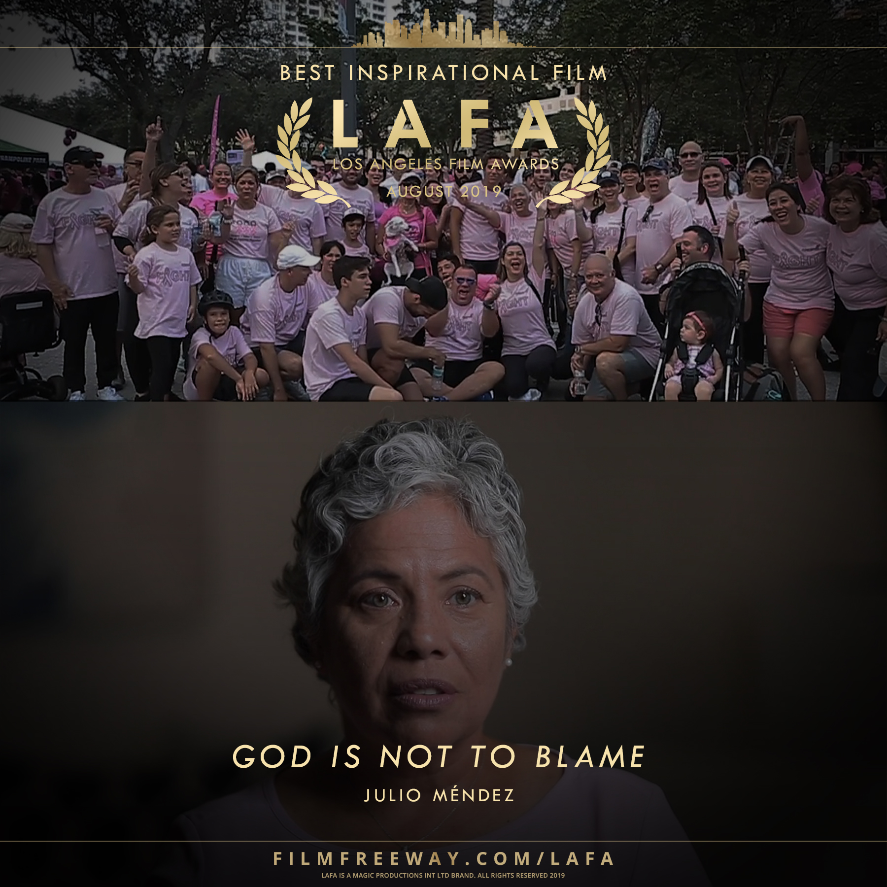 GOD IS NOT TO BLAME design