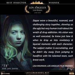 75 - LAFA Best Director - Review