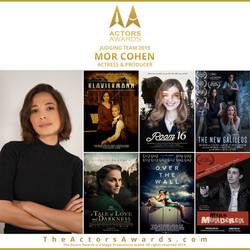 Actors Awards 2019 - Mor Cohen