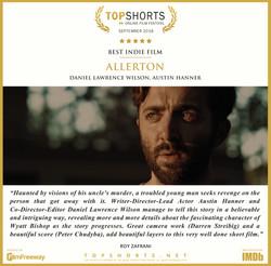 2018 09 Best Indie Film - ALLERTON