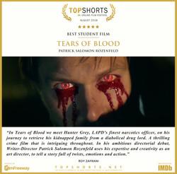 2018 08 Best Student Film - Tears of Blo