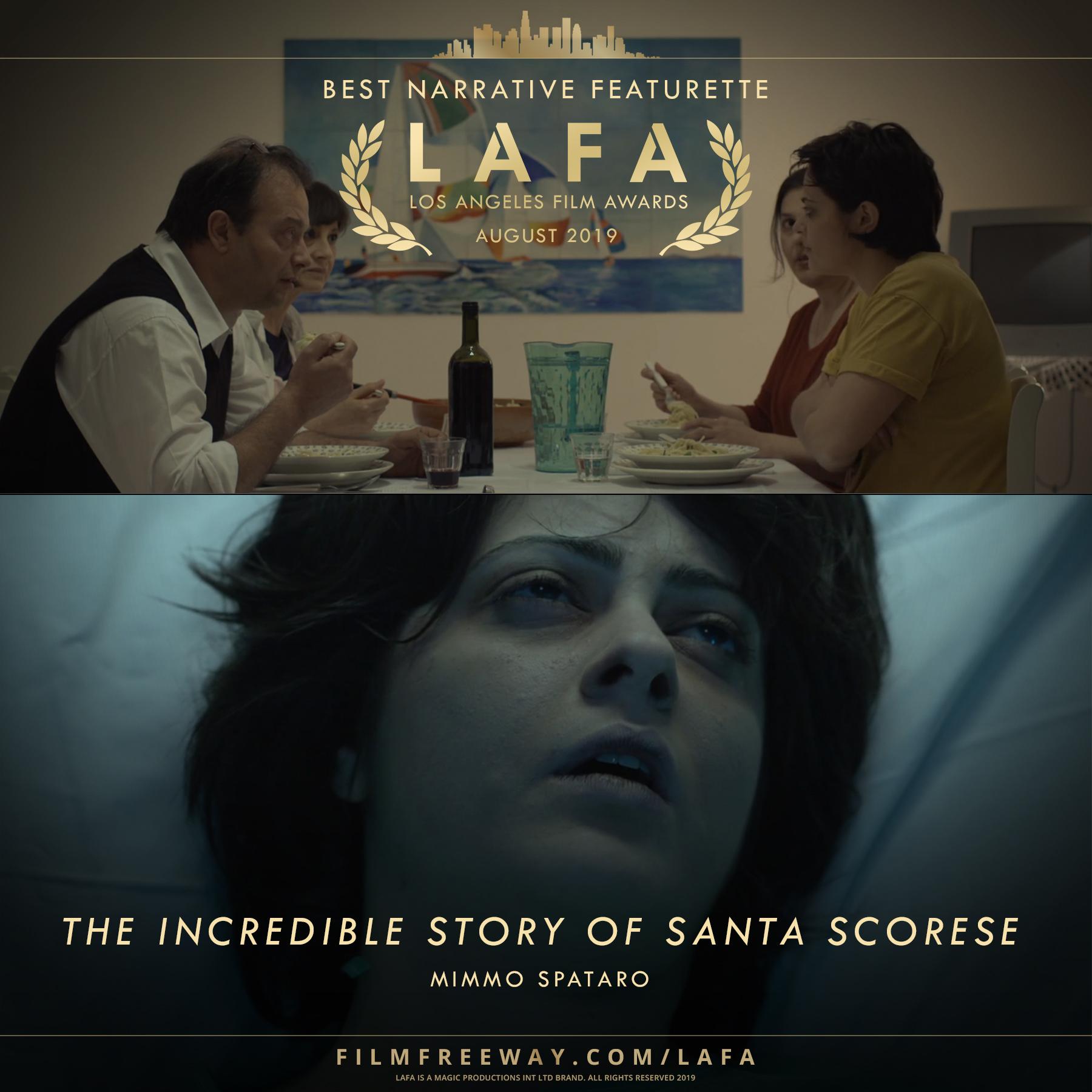 THE INCREDIBLE STORY OF SANTA SCORESE de