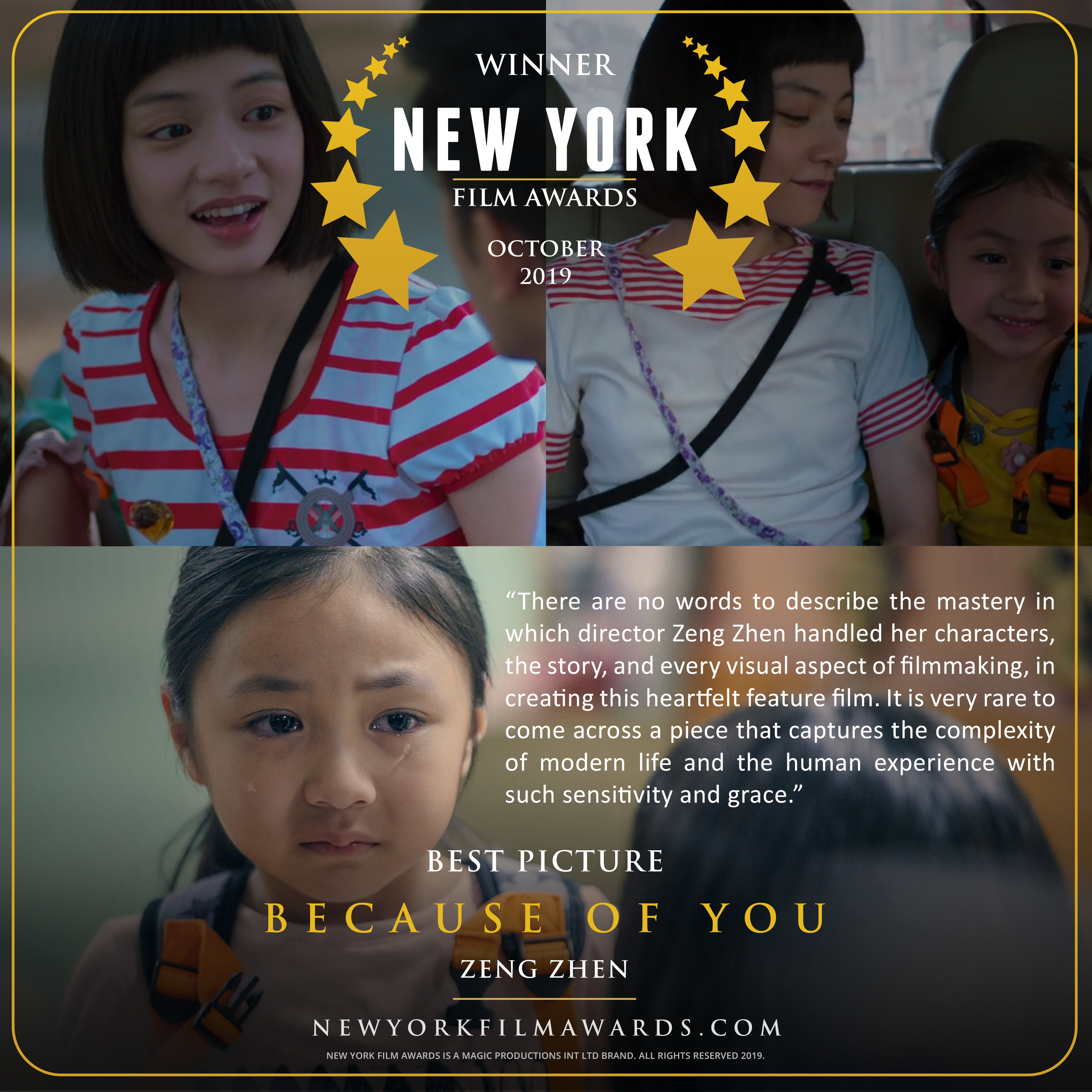 BECAUSE OF YOU review