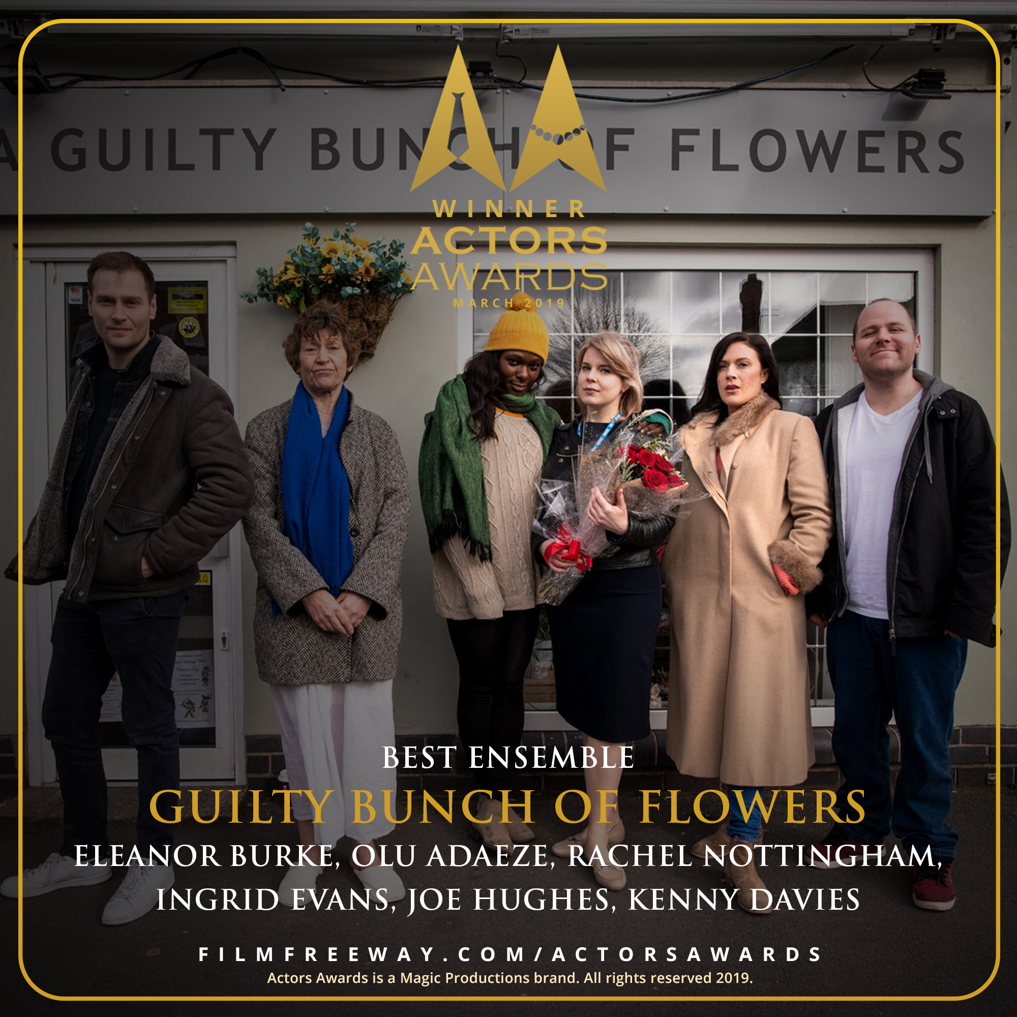 Guilty Bunch of Flowers design 2