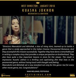 KUASHA JOKHON - Best Director