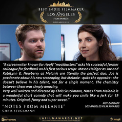 NOTES FROM MELANIE - Review