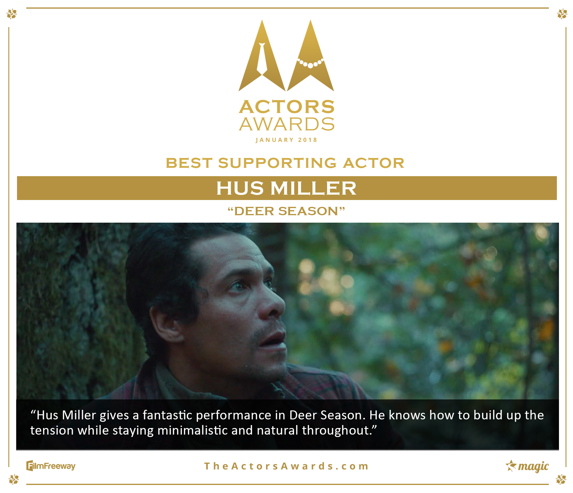 Deer Season 2018 01 BestSupporting Actor