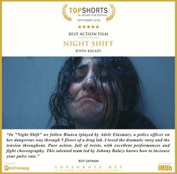 2018 09 Best Action Film - Night Shift