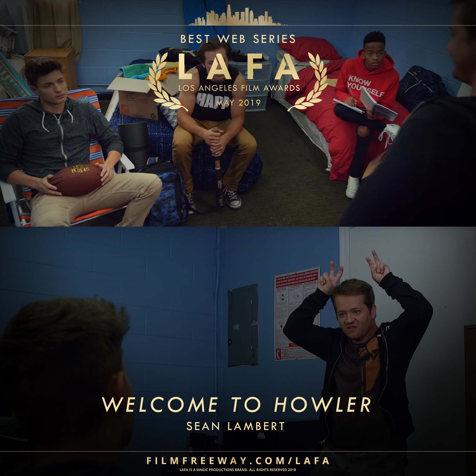 WELCOME TO HOWLER design