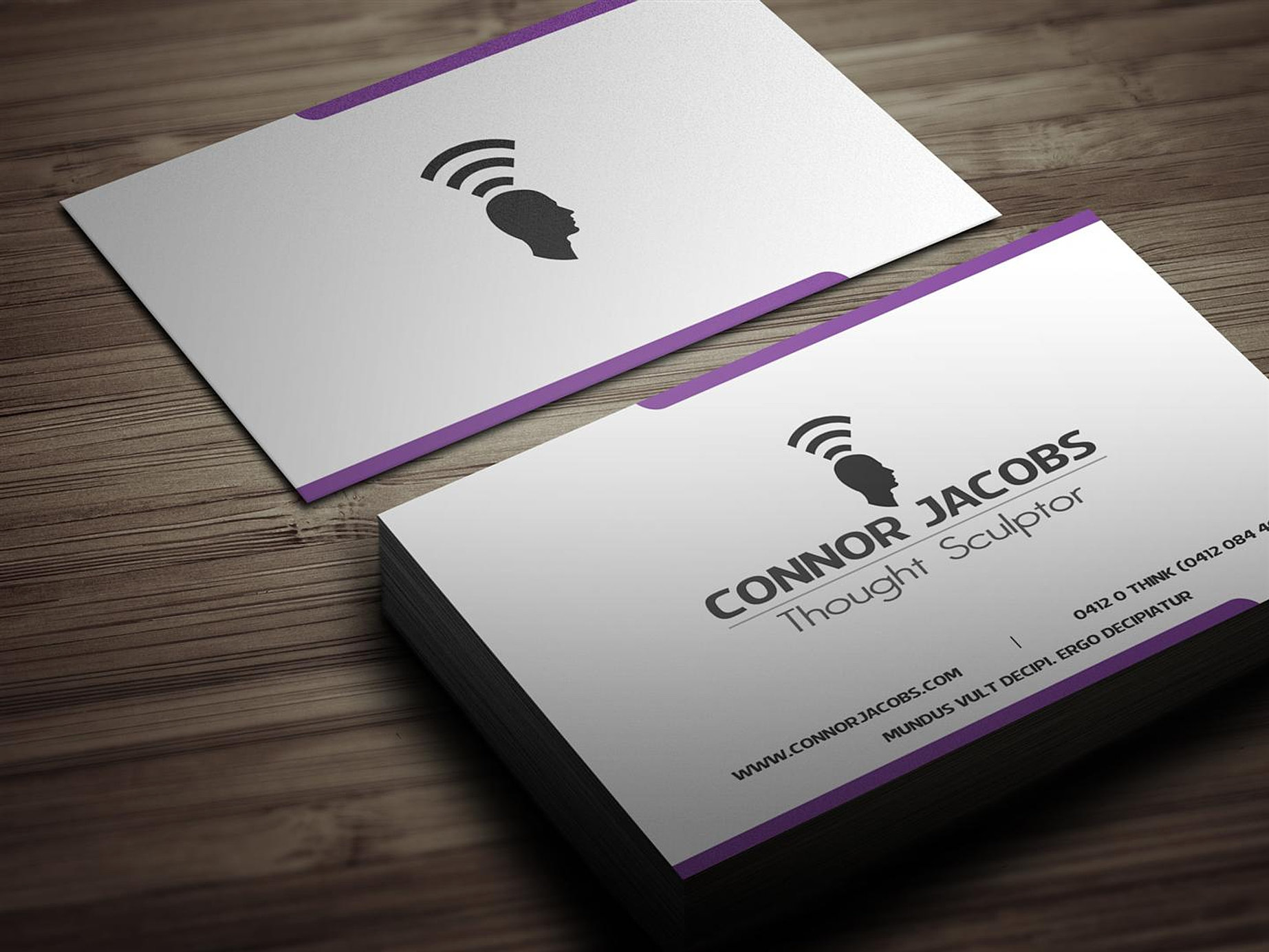 Magic Productions - Business Card Design