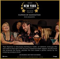 Flower of Manhattan - 2018 01 Best Actor