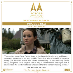 The Last Divide - Best Young Actress