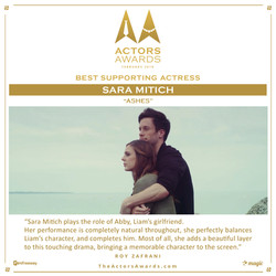 Ashes 2018 02 Best Supporting Actress
