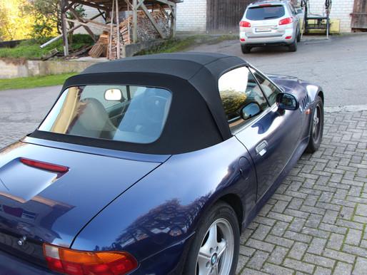 BMW Z3 Cabrioverdeck und Lenkrad