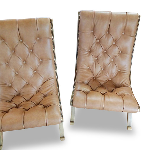 Sessel Chesterfield Abheftung