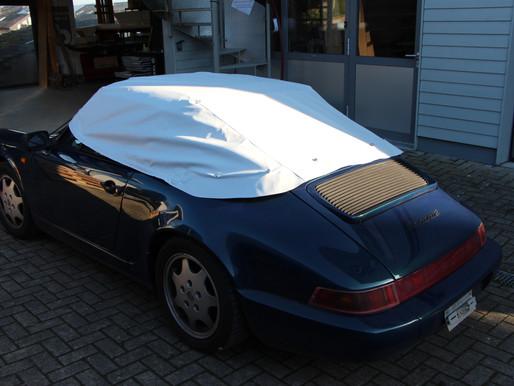 Ein Porsche 911er Verdeck