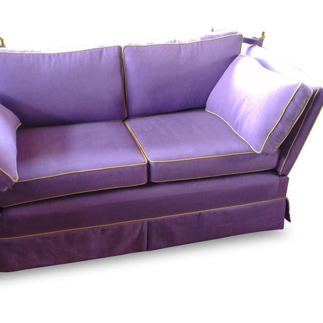 Sofa in Kundenstoff