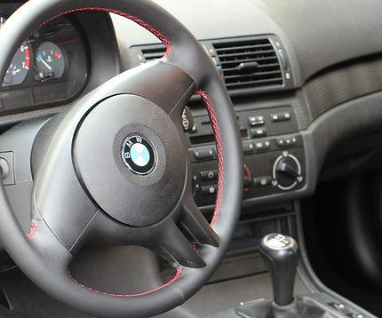 BMW Lenkrad Nappa Leder