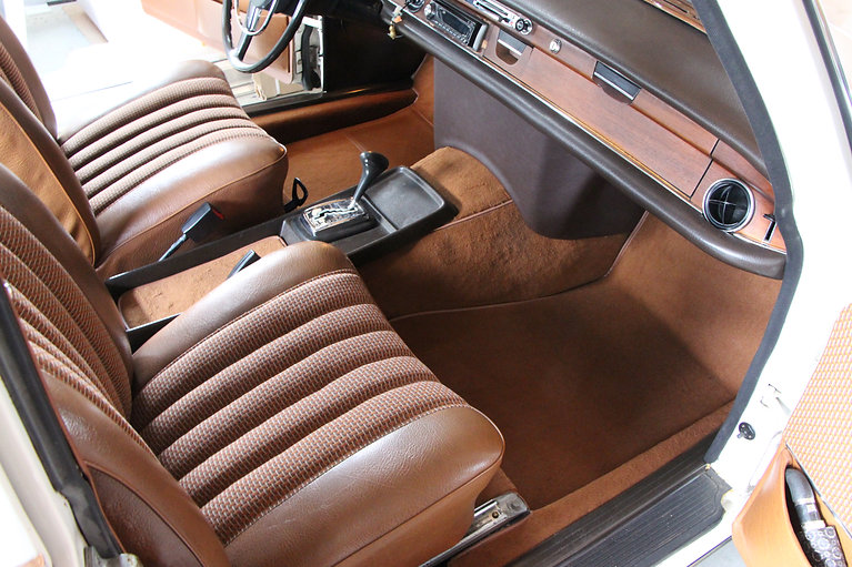 Mercedes Oldtimer Teppich