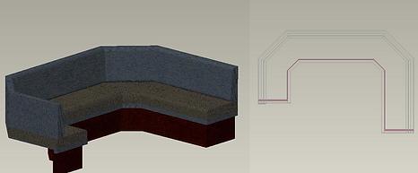 3D-Planner Restaurant Lounge Individuelle Einrichtung