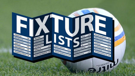 First Team, Reserves, U18's & Veterans Fixtures Announced