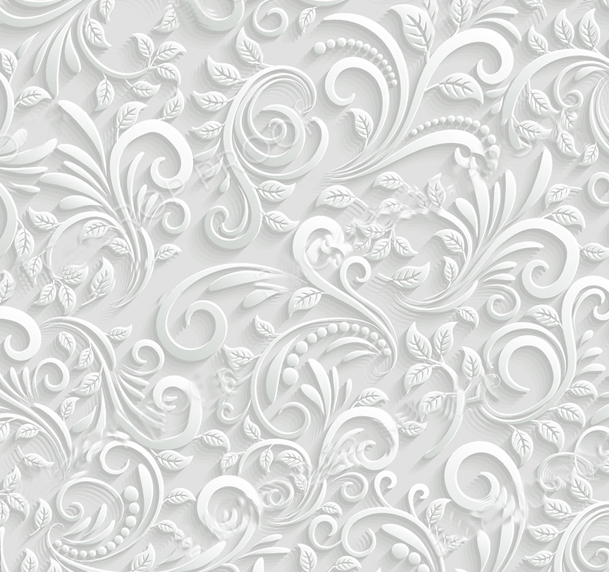 Floral pattern backdrop