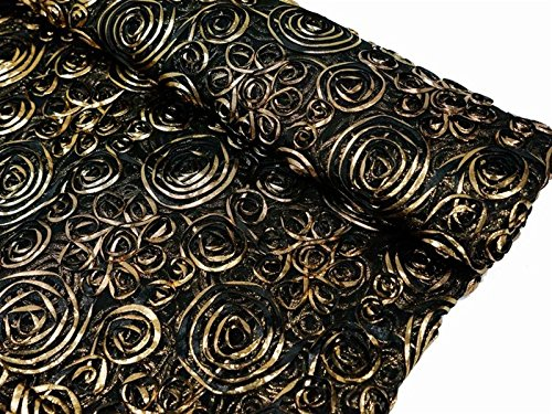 Black & Gold Roses