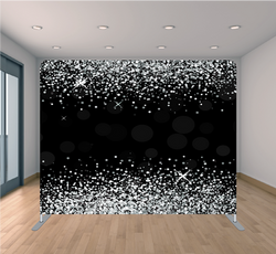 Black and White Glitter