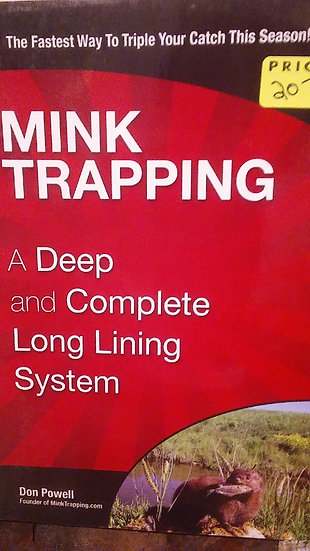 Mink Trapping
