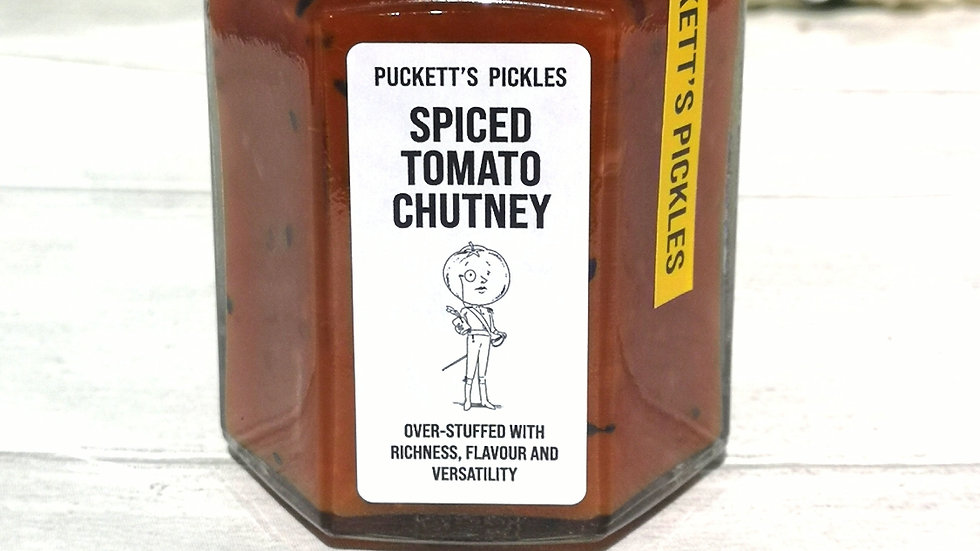 Spiced Tomato Chutney - Over-stuffed with richness, flavour and versatility