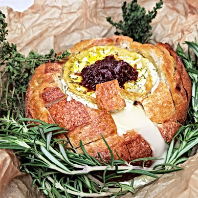 The Ultimate Baked Camembert
