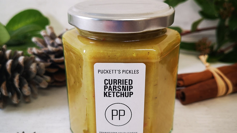 Curried Parsnip Ketchup - transform your Festive leftovers
