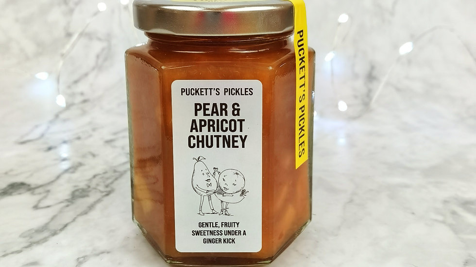 Pear & Apricot Chutney - Gentle, fruity sweetness under a ginger kick