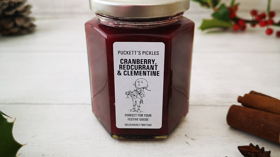 Cranberry, Redcurrant & Clementine - Perfect for your Festive goose