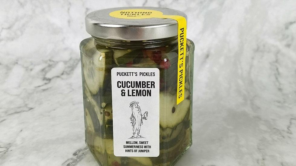 Cucumber & Lemon - Mellow, sweet Summeriness with hints of juniper
