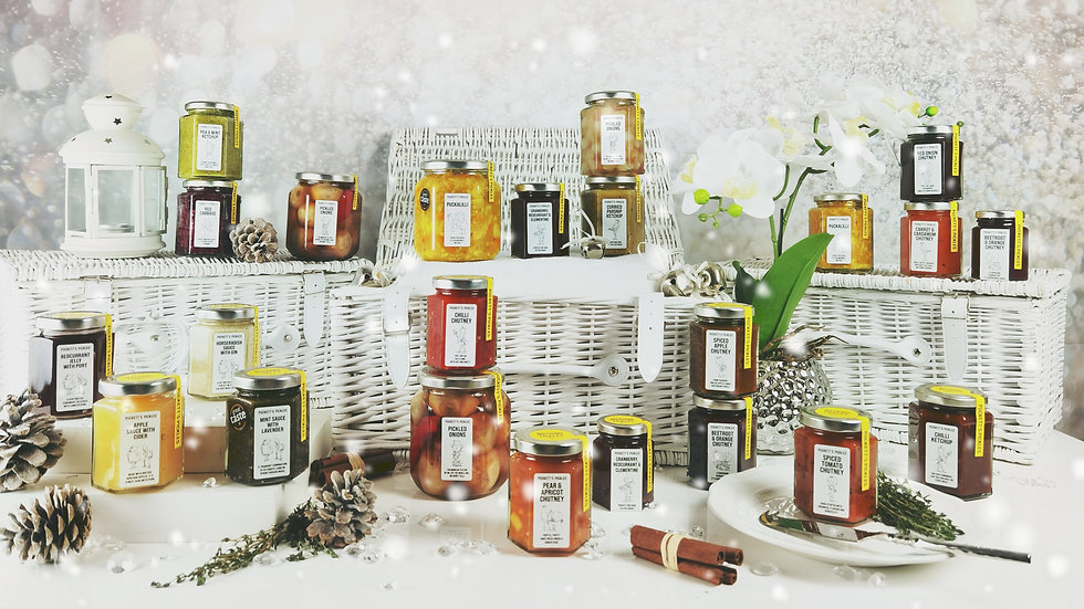 The Nothing tickles hamper for all your festive pickle needs!
