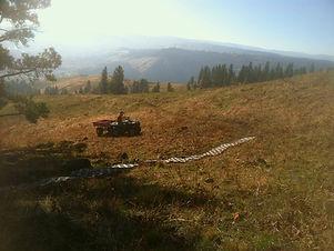 Trail work