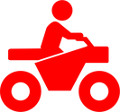 Four wheeler icon