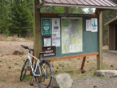 Owsley Canyon TH Sign Board