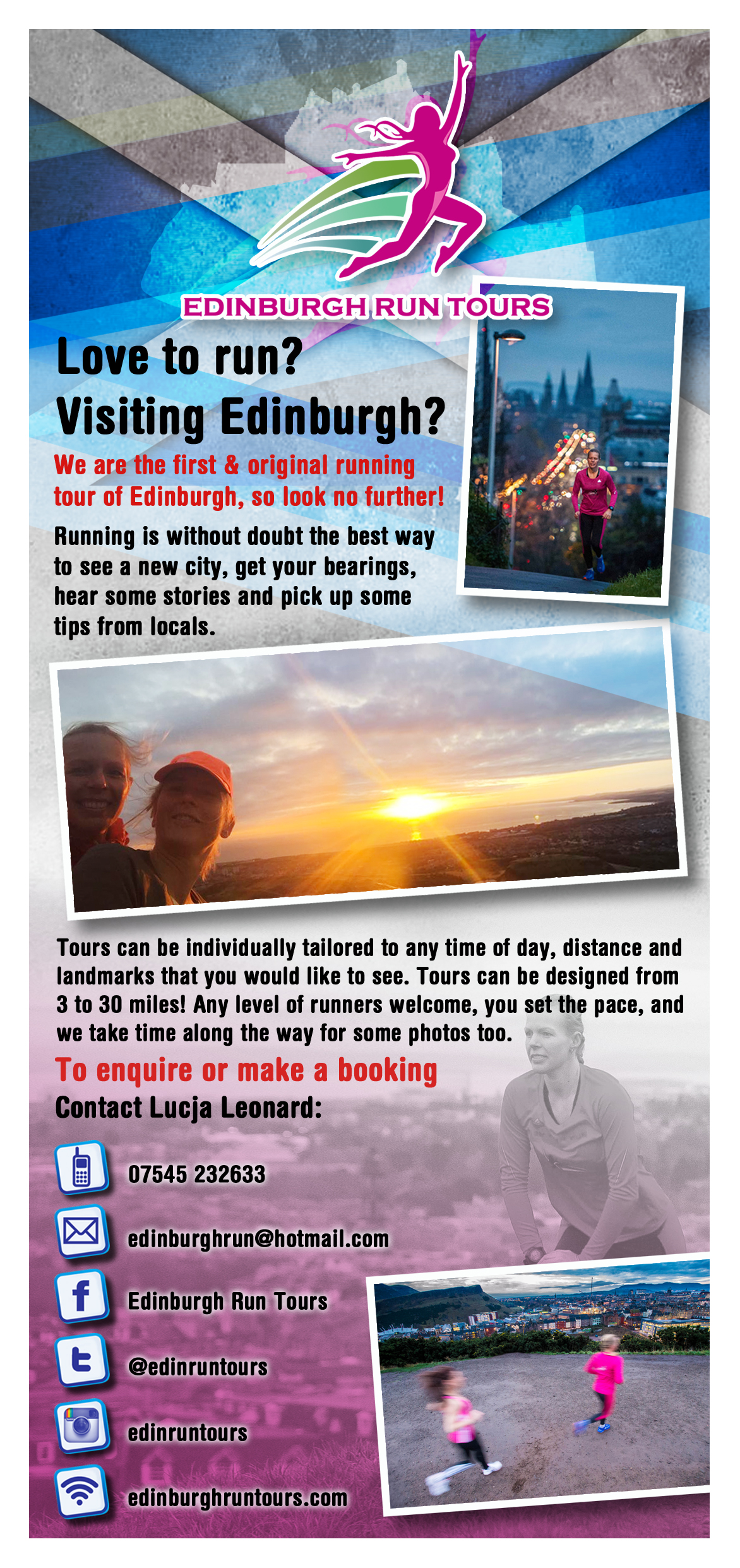 Edinburgh Run Tours