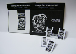 Mousemats and fridge magnets