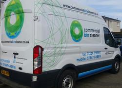 Commercial Bin Cleaner