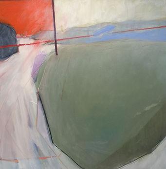 'Katelios Dreams' 100 x 100 cm Oil on canvas  SOLD