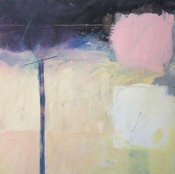 'Portal' 100 x 100 cm Oil on canvas  £1600  (available through Burford Garden Company)
