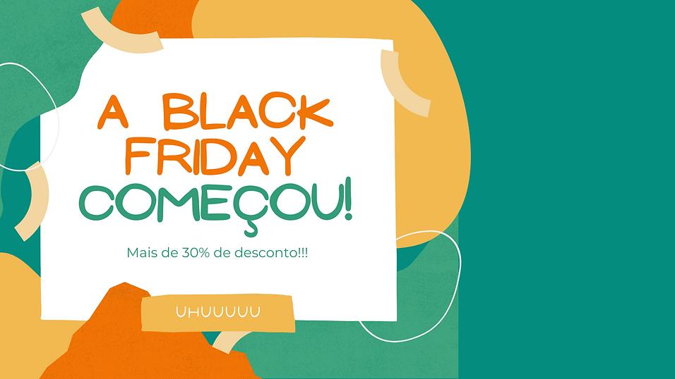 Cópia de Colorful Black Friday Discount