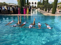 Why not some Synchronized swimmers for t