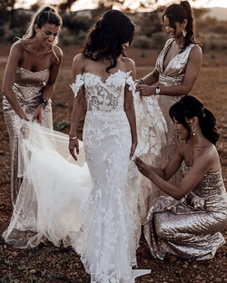 Bridesmaid in their elements __tali__pho